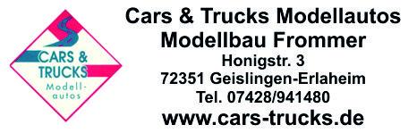 Cars & Trucks Modellbau Frommer-Logo