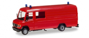 Herpa 013260 MB Vario GW-A/S langer Radstand rot Bausatz 1:87 HO
