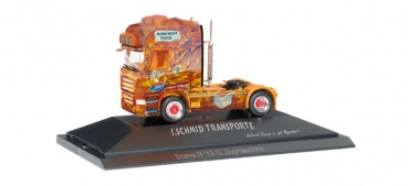 "Herpa 110822 Scania R 2013 2-achs Solozugmaschine ""Herpa Monument Truck PC-Modell 1:87 HO"