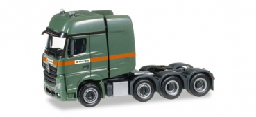 "Herpa 306584 MB Actros 2011 SLT 4-achs Zugmaschine ""Max Wild"" 1:87 HO"