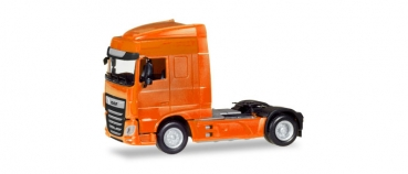 Herpa 309066 DAF XF Euro 6 SC facelift 2-achs Solozugmaschine orange 1:87 Spur HO