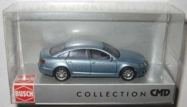 Busch 49605 Audi A6 Limousine 2004 hellblaumet. CMD-Collection 1:87 HO