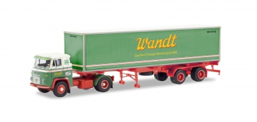 "Herpa 87MBS026000 Scania Vabis LB 76 Containersattelzug ""Spedition Wandt"" 1:87 Spur H0"